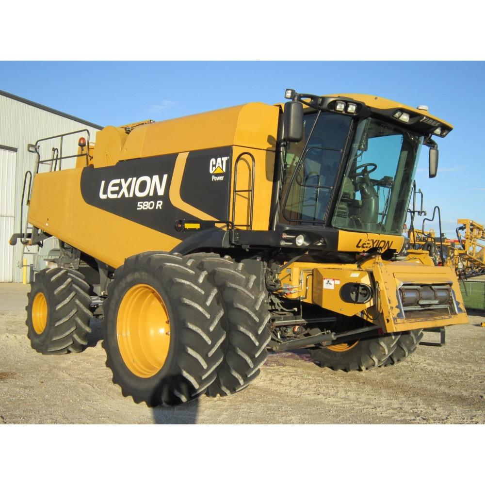 Комбайн CAT CLAAS LEXION 580R
