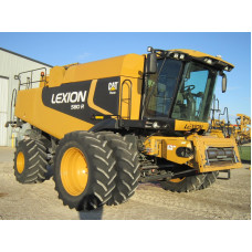 Комбайн Cat Claas Lexion 580R