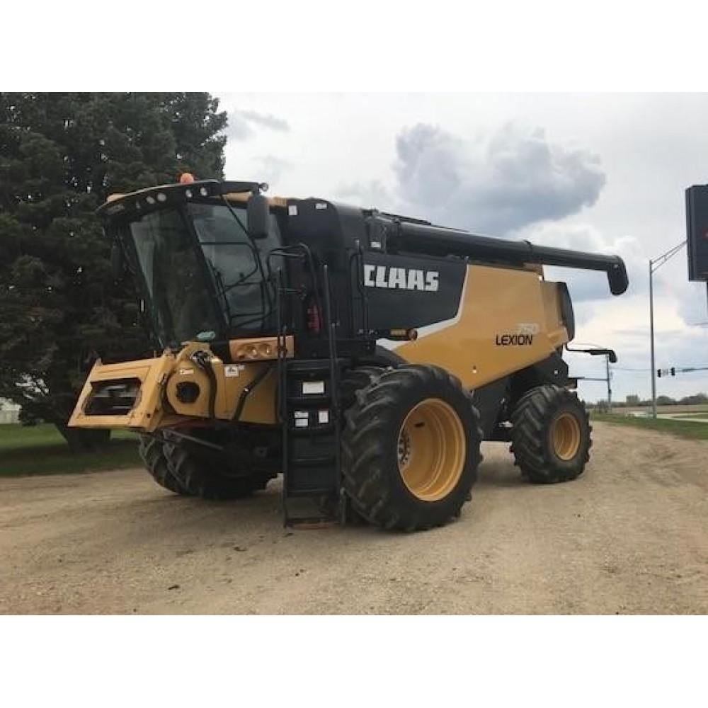 Комбайн CAT CLAAS LEXION 750