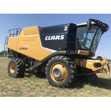 Комбайн Cat Claas Lexion 760