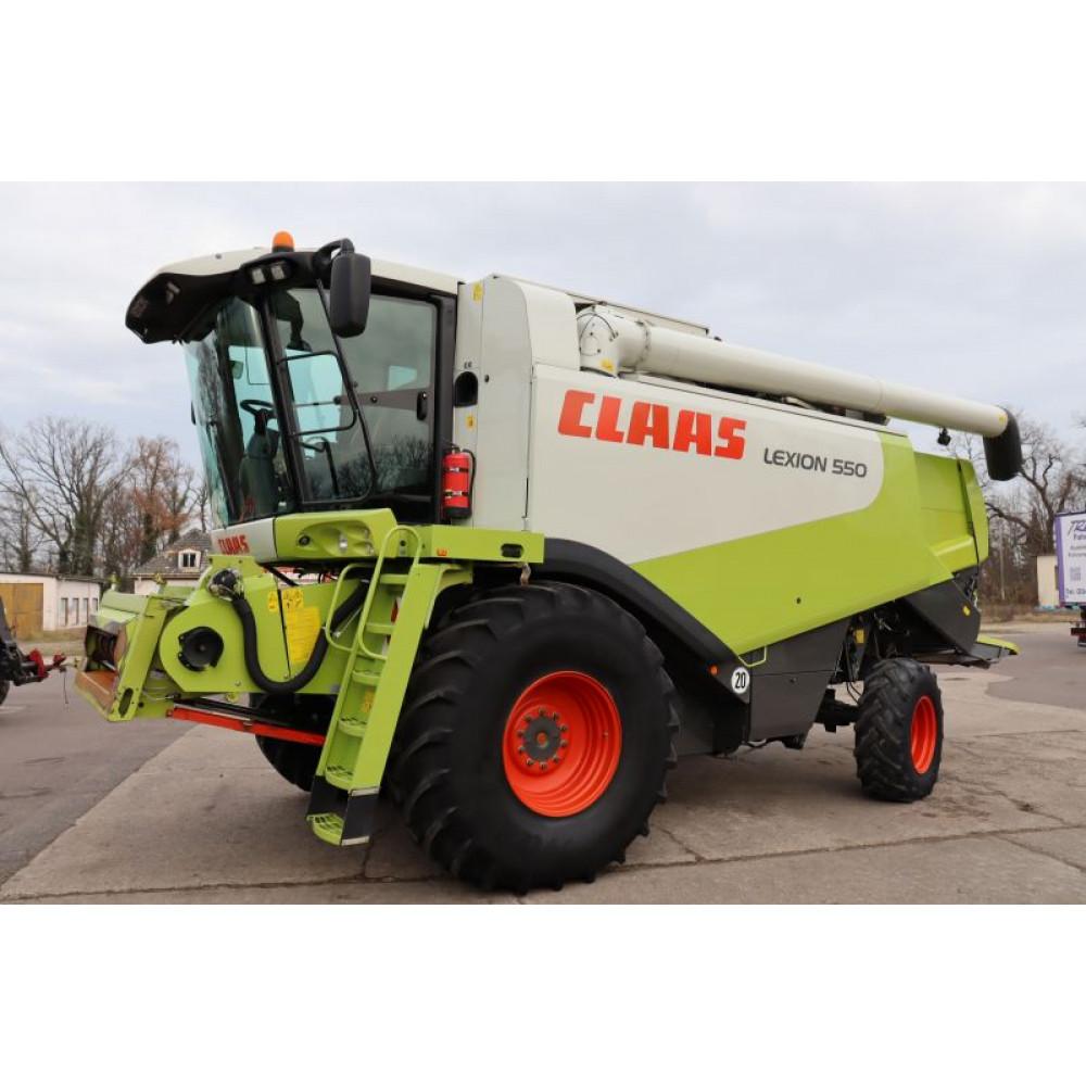 Комбайн CLAAS LEXION 550