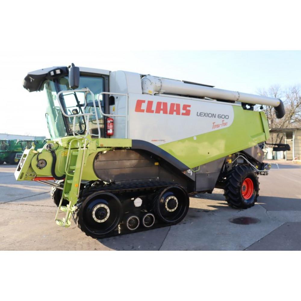 Комбайн CLAAS LEXION 600 TT