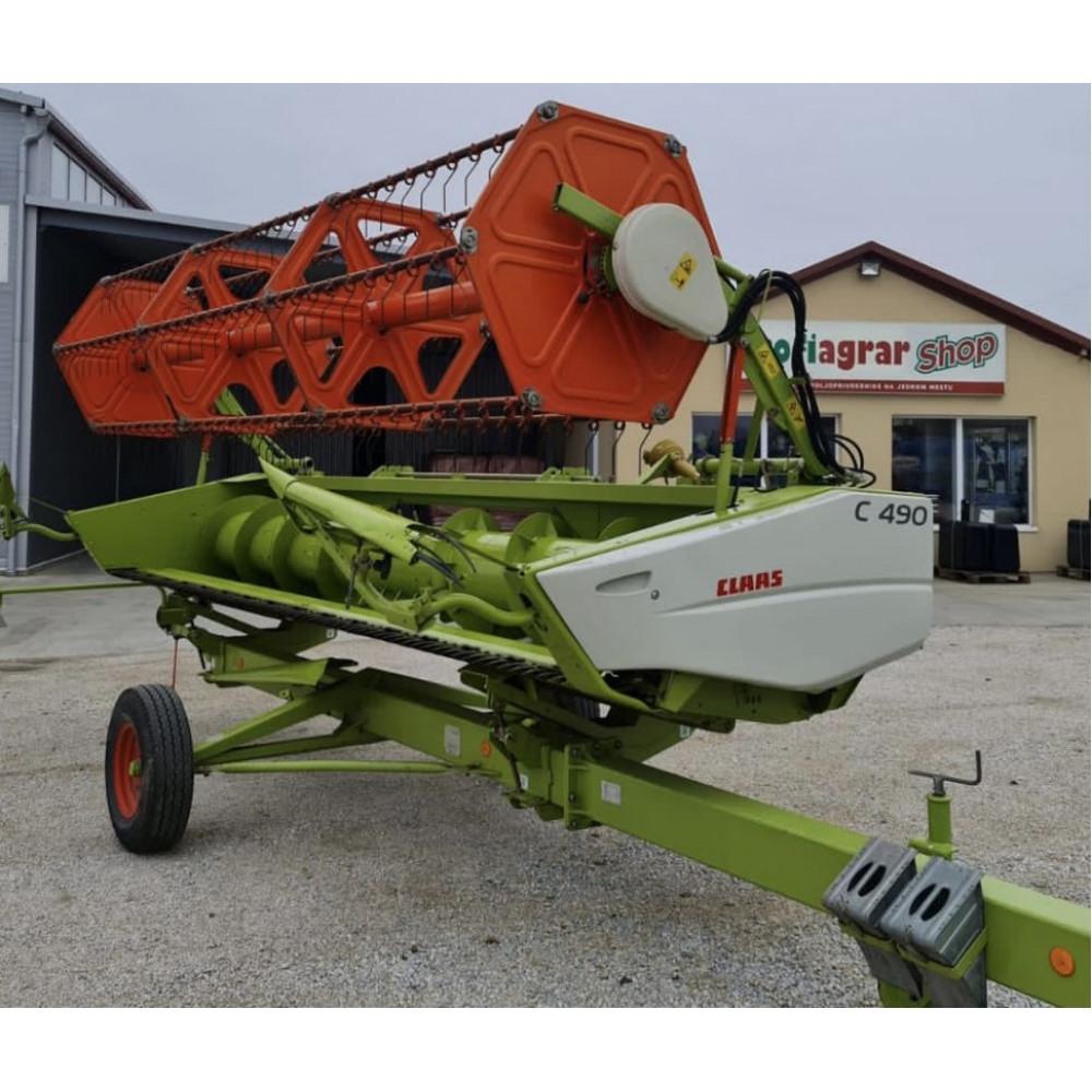 Жатка зерновая Claas С490